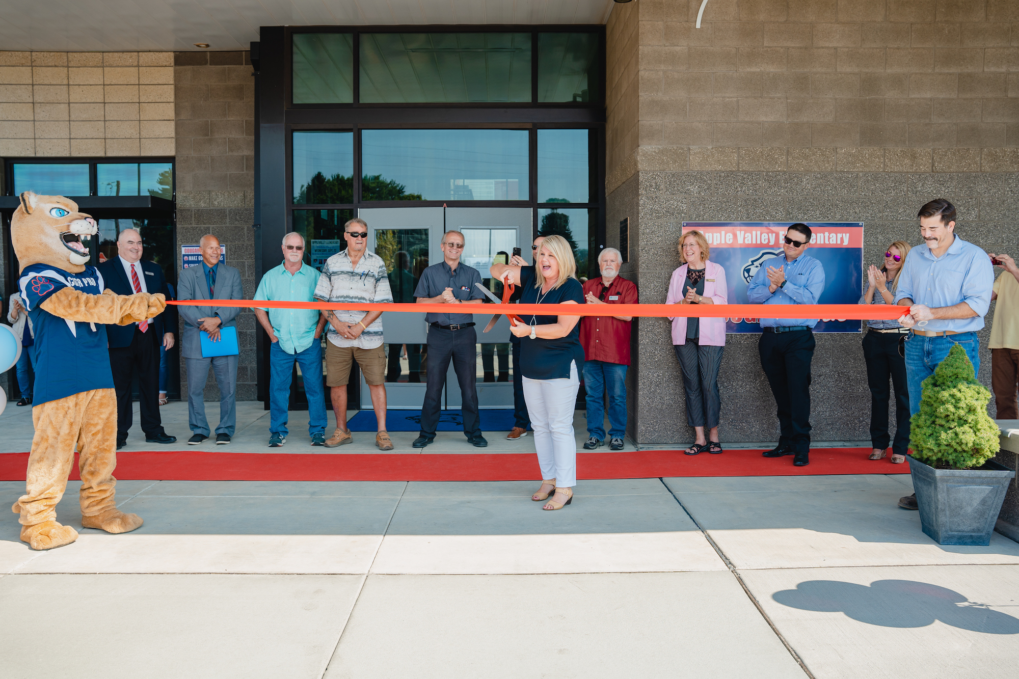 Apple Valley Ribbon Cutting Ceremony
